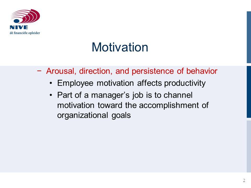 13 Reinforcement Perspective on Motivation