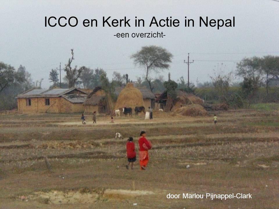 Afdelingen werkzaam in Nepal Toegang tot Basisvoorzieningen Democratisering en Vredesopbouw Zending Communicatie en Lobby
