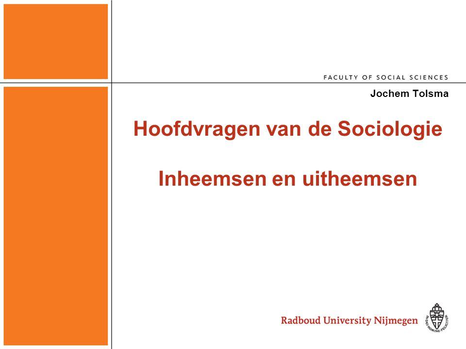 Voorbeeld tentamenvraag In het college werd ook afgeleid dat Turkse en Marokkaanse jongeren juist meer zelfmoord zullen plegen in het huidige Nederland dan autochtone Nederlandse jongeren.