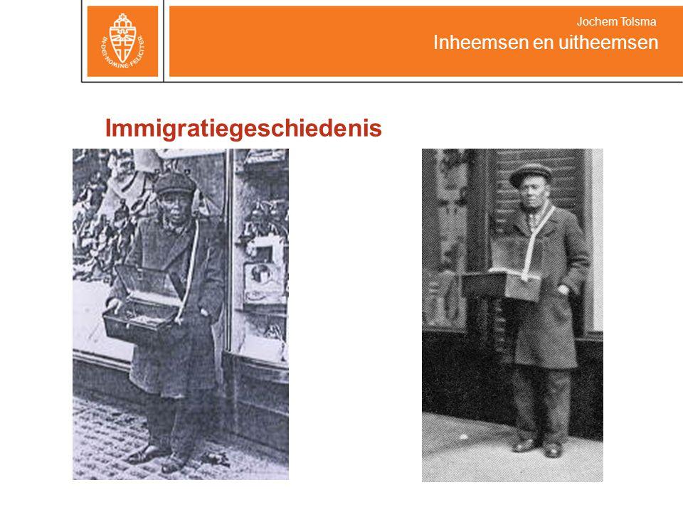 Inheemsen en uitheemsen Jochem Tolsma Bron Foto's: www.geledraak.nl Internationaal Instituut voor Sociale Geschiedenis Historisch Beeldarchief Migranten http://www.iisg.nl/hbm/index.php