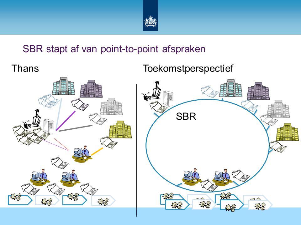 SBR stapt af van point-to-point afspraken SBR ToekomstperspectiefThans