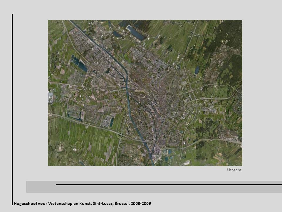 Hogeschool voor Wetenschap en Kunst, Sint-Lucas, Brussel, 2008-2009 Utrecht