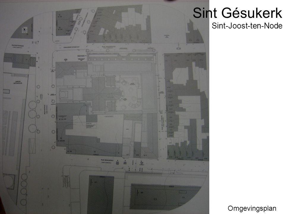 Sint Gésukerk Omgevingsplan Sint-Joost-ten-Node