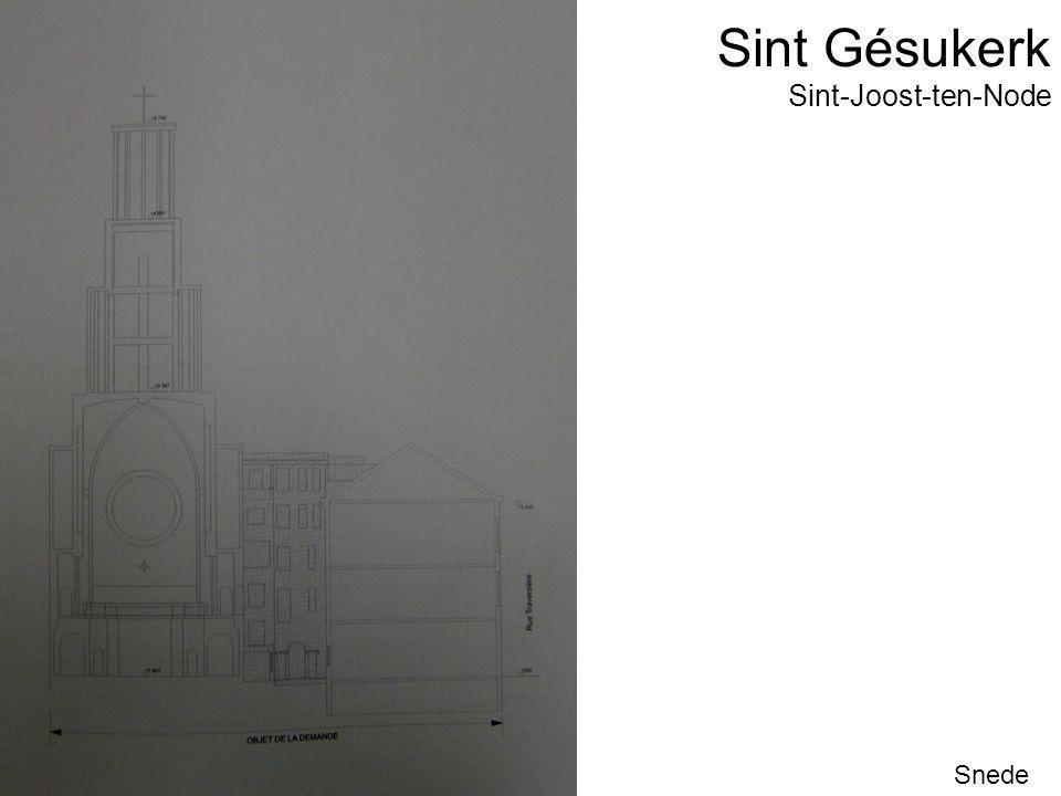 Sint Gésukerk Snede Sint-Joost-ten-Node