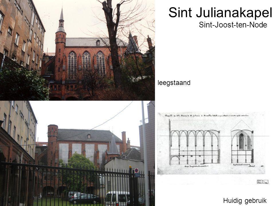 Sint Julianakapel Huidig gebruik Sint-Joost-ten-Node leegstaand