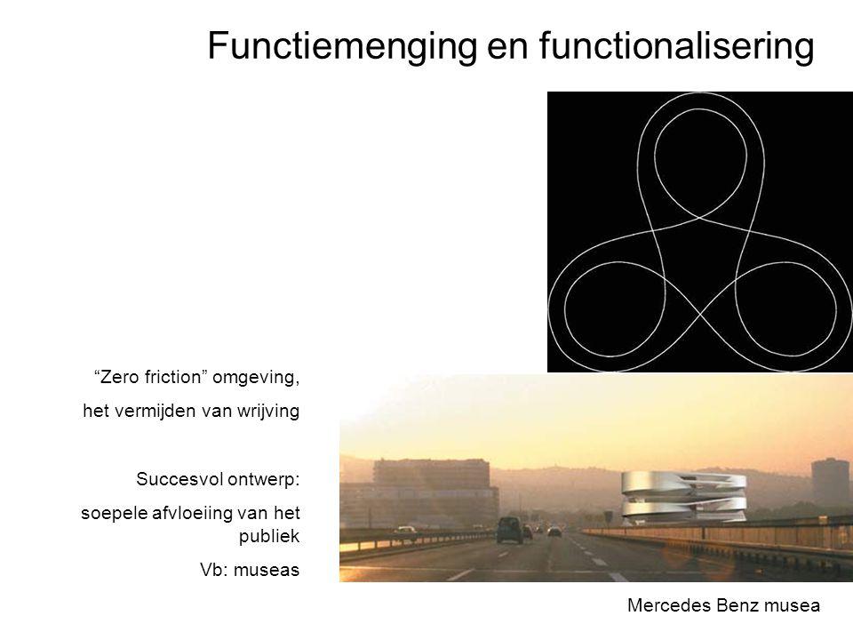 """Functiemenging en functionalisering Mercedes Benz musea """"Zero friction"""" omgeving, het vermijden van wrijving Succesvol ontwerp: soepele afvloeiing van"""