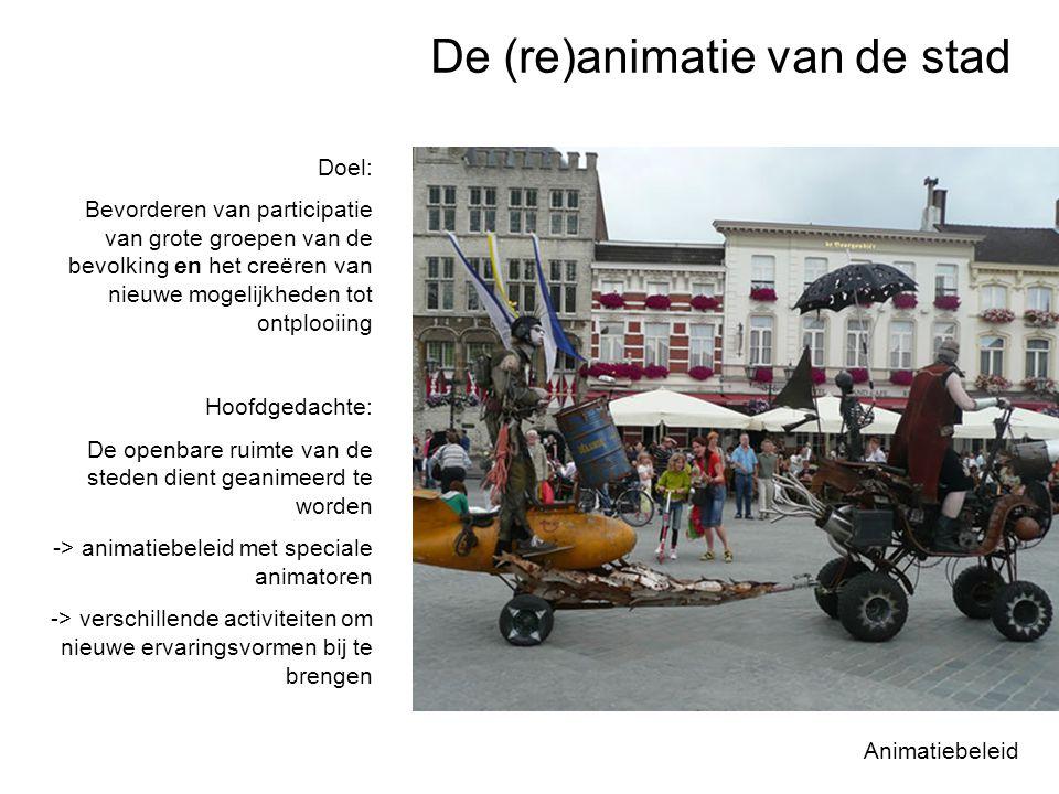 Parochialisering De these van het verval Utrecht Dominantie van een groep produceert de ervaring van een publieke ruimte Groepen domineren openbare ruimte: positieve en negatieve effecten Positief: levendigheid door trekkende groep Negatief: groepen worden uitgesloten