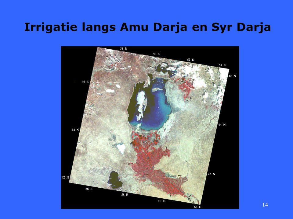 14 Irrigatie langs Amu Darja en Syr Darja