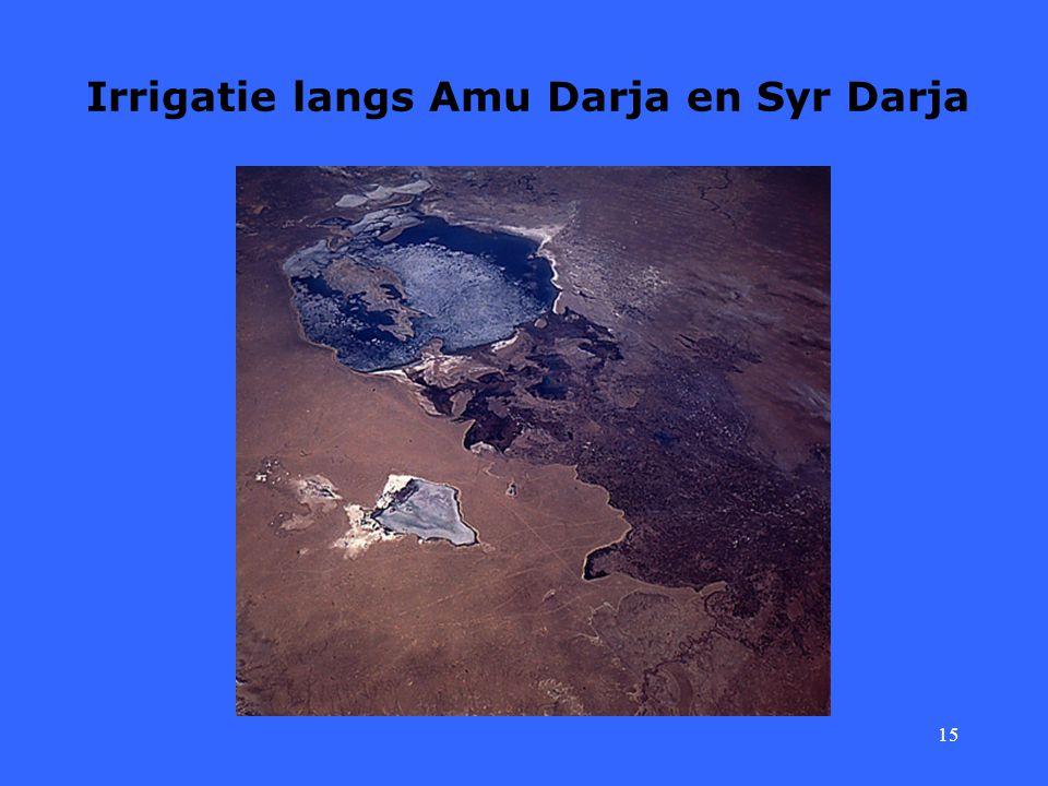 15 Irrigatie langs Amu Darja en Syr Darja