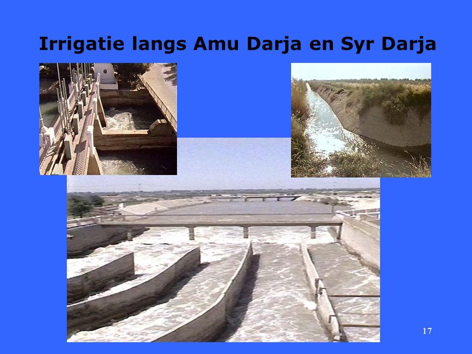 17 Irrigatie langs Amu Darja en Syr Darja