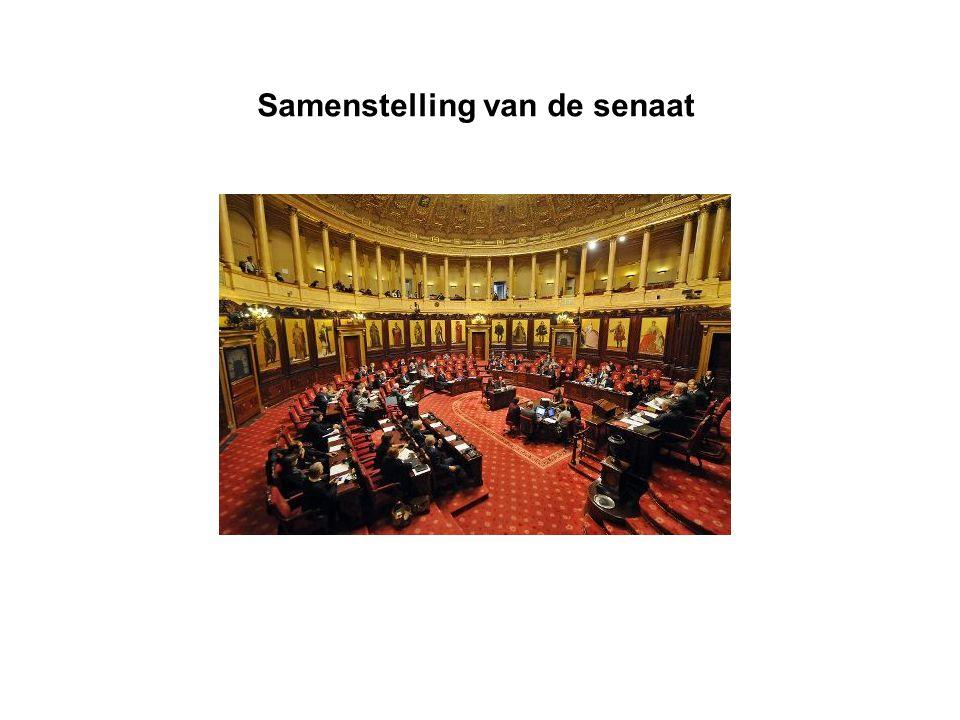 Samenstelling van de senaat