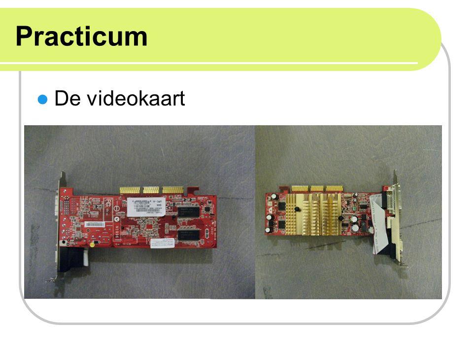 Practicum De videokaart