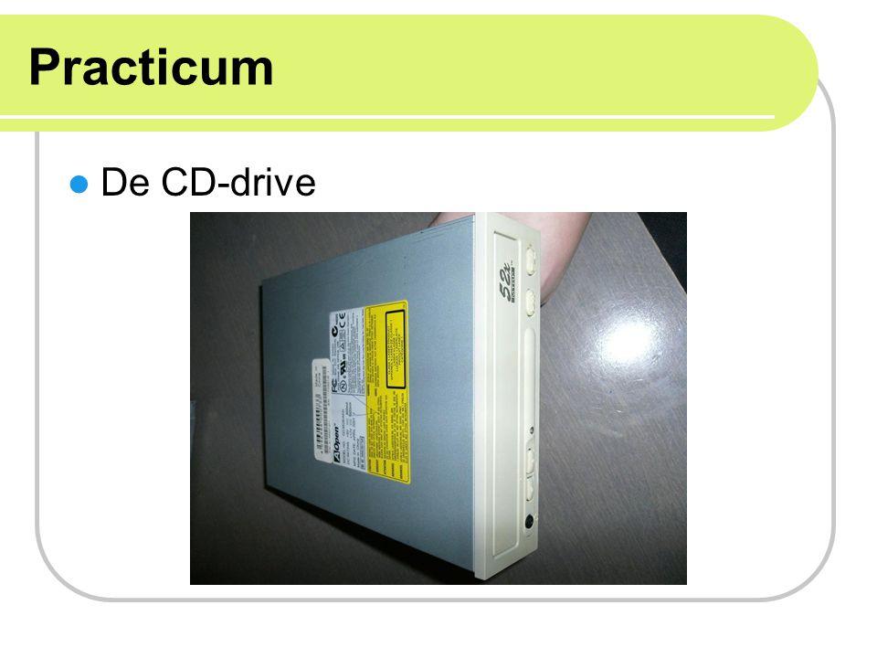 Practicum De CD-drive