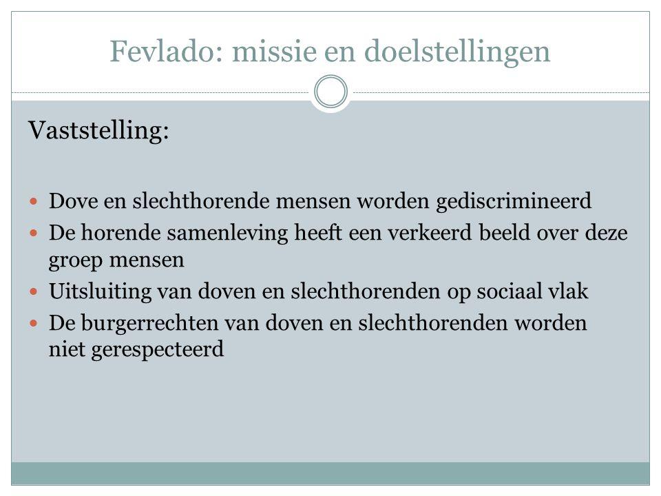 ICT – POWERPOINT OEFENING 2 Fevlado Federatie van Vlaamse DovenOrganisaties (vzw)