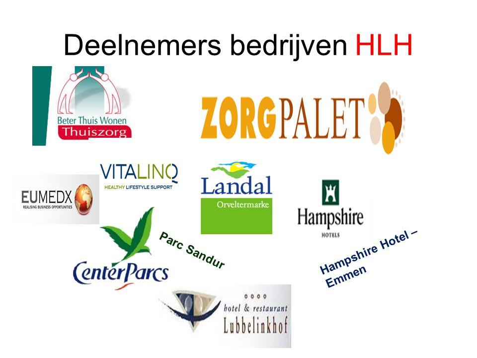 Deelnemers bedrijven HLH Parc Sandur Hampshire Hotel – Emmen