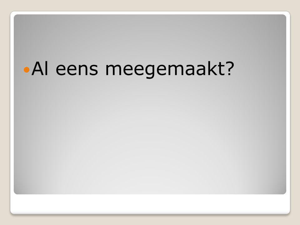 Hoe omvangrijk is dit fenomeen? In Nederland overlijden jaarlijks 1500 a 1600 mensen hieraan (meer dan aan het verkeer waarover je elke dag in de kran