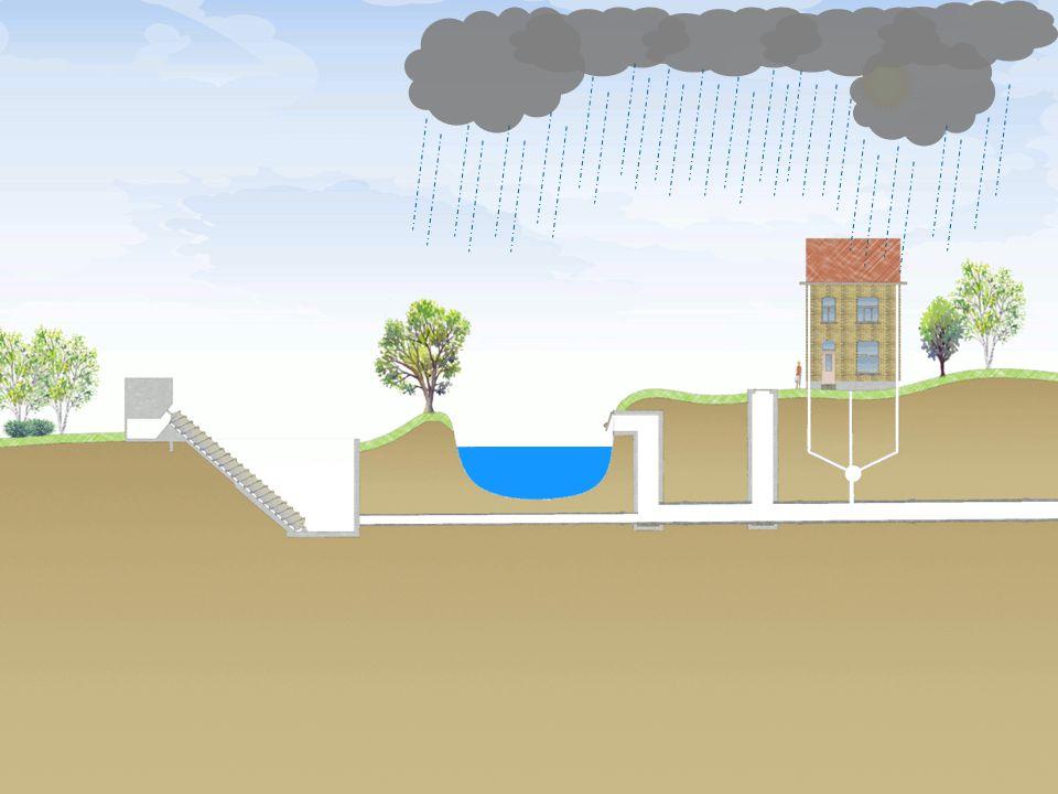 15-12-2010 Aquafin partner for all wastewater projects 13 Wat met het regenwater.