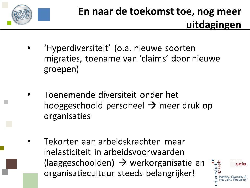 En naar de toekomst toe, nog meer uitdagingen 'Hyperdiversiteit' (o.a.