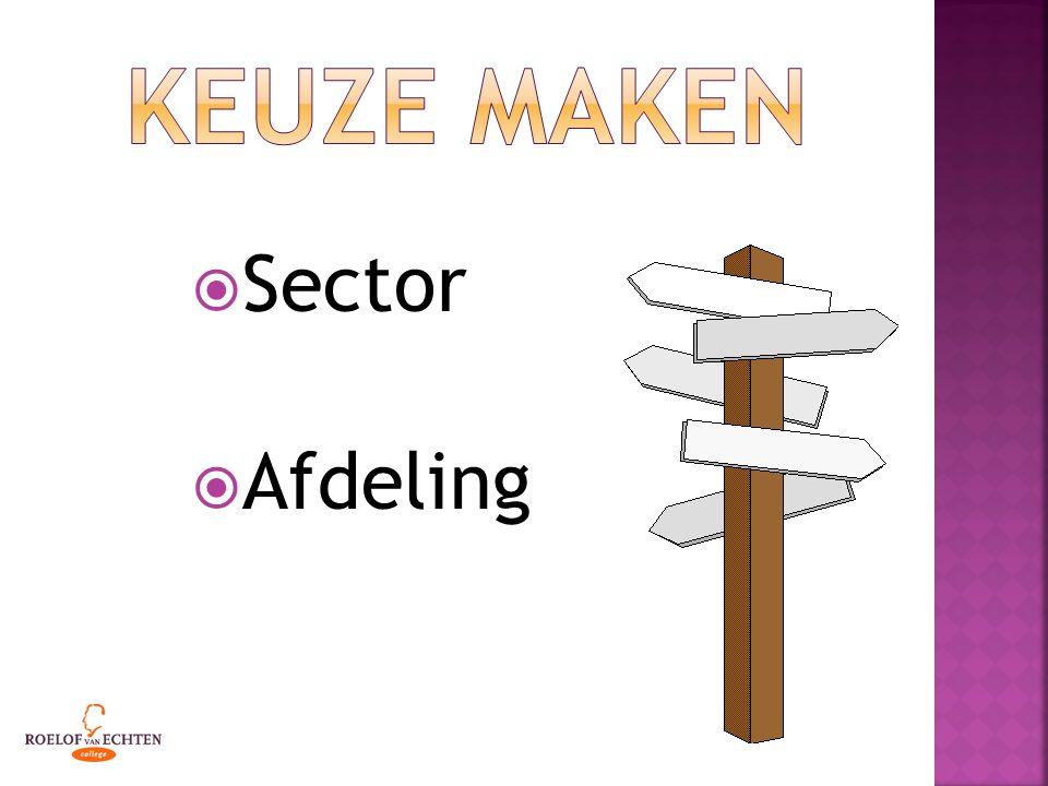  Sector  Afdeling