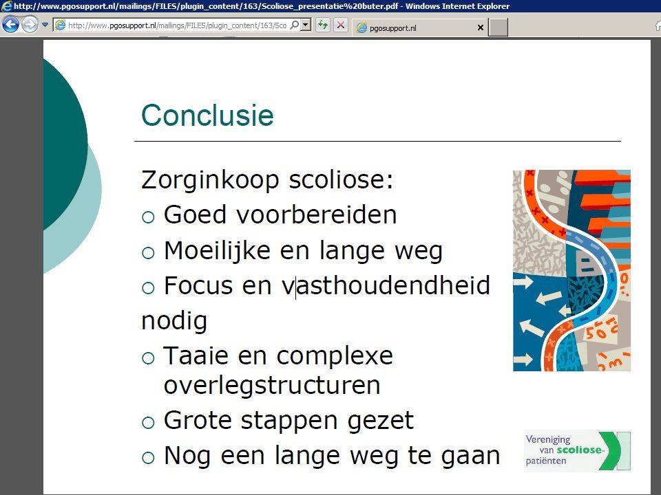 Scoliose meets….