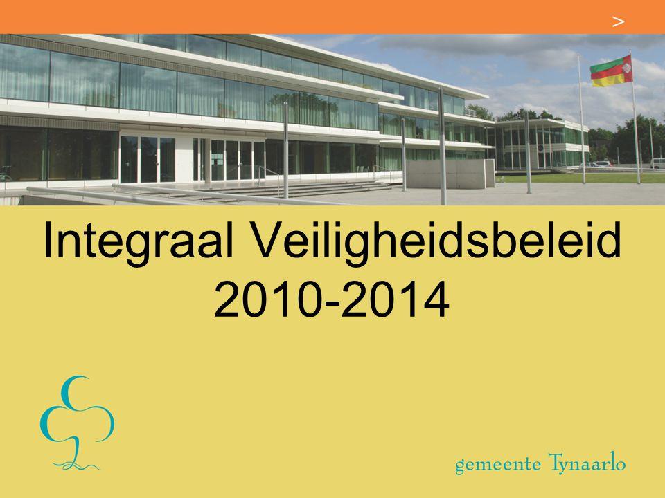 Integraal Veiligheidsbeleid 2010-2014