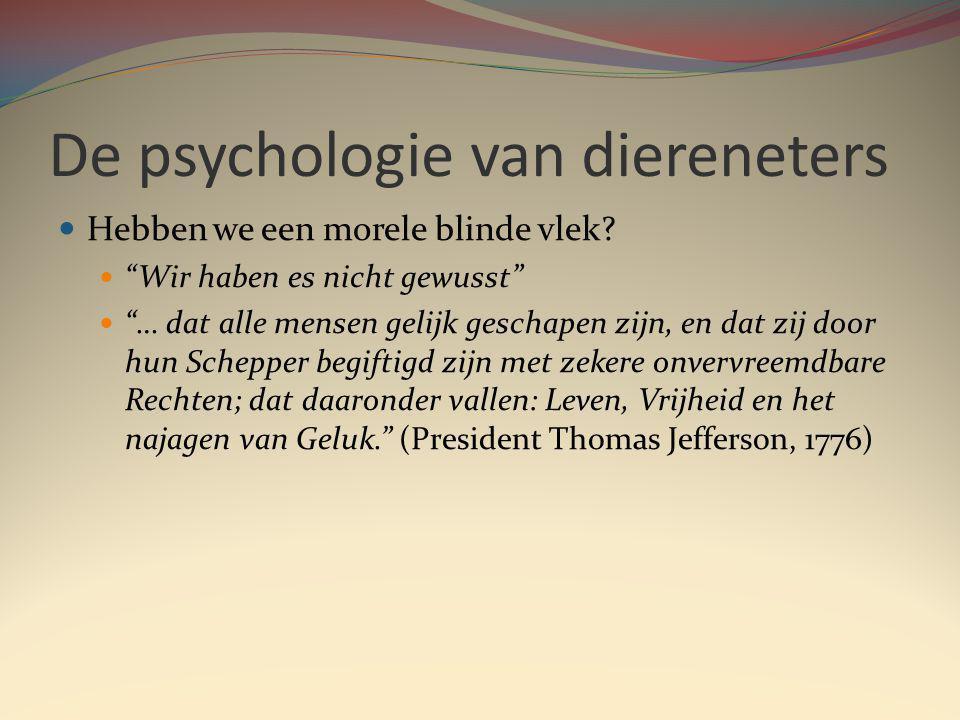 De psychologie van diereneters Hebben we een morele blinde vlek.