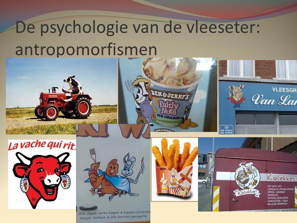 De psychologie van de vleeseter: antropomorfismen