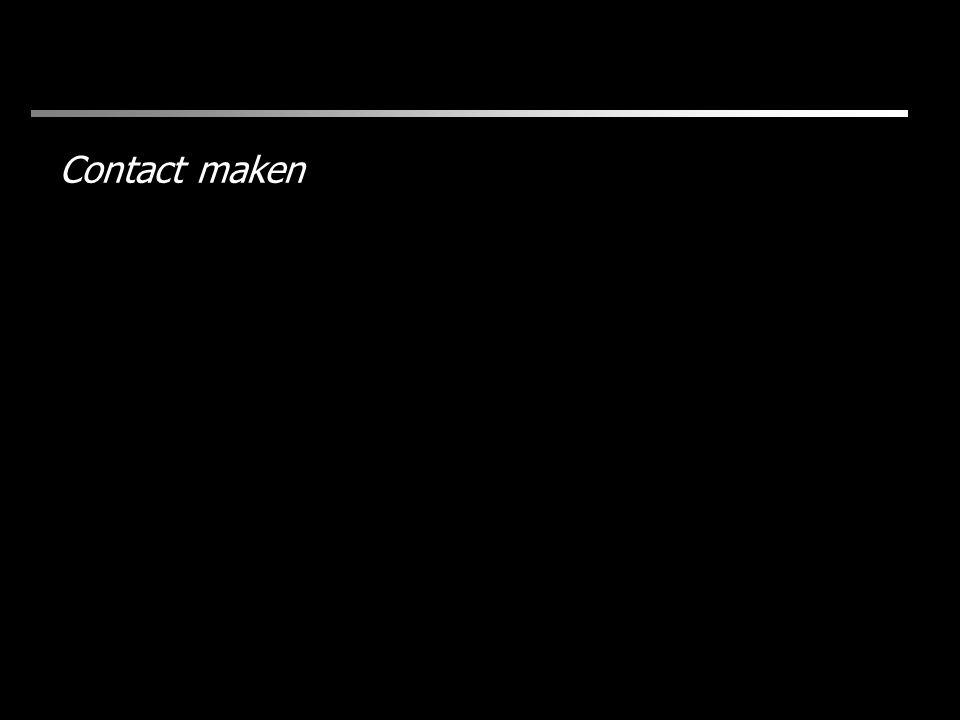 Contact maken
