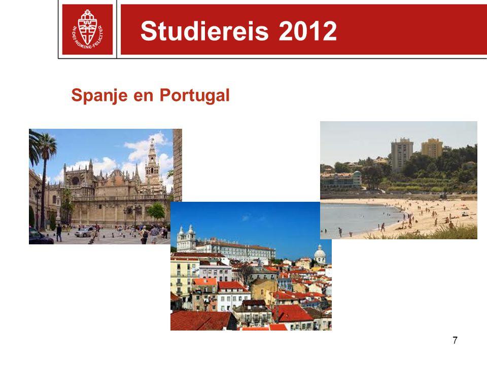 Spanje en Portugal 7 Studiereis 2012