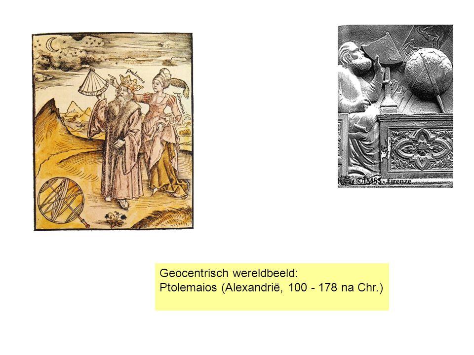 Geocentrisch wereldbeeld: Ptolemaios (Alexandrië, 100 - 178 na Chr.)