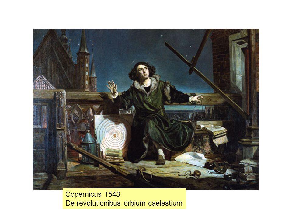 Copernicus 1543 De revolutionibus orbium caelestium