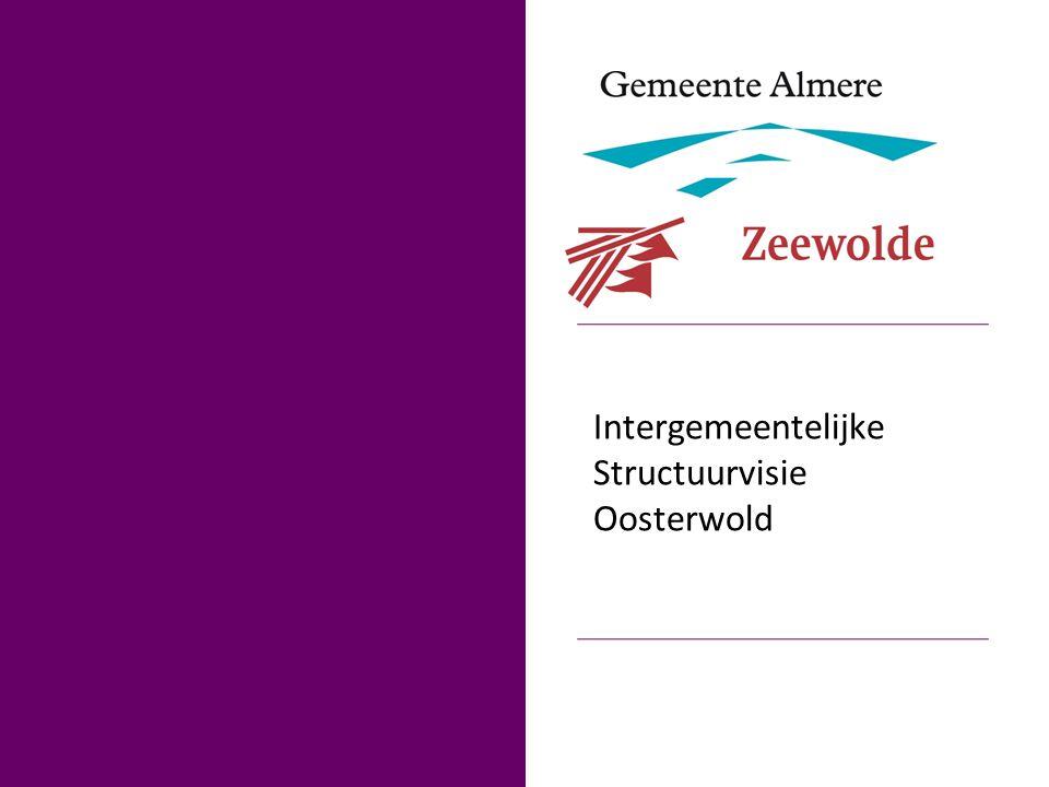2 Vertrekpunt De ontwikkelstrategie voor Oosterwold (2012) De raadsbesluiten van Zeewolde en Almere voor een gezamenlijke structuurvisie (2012) Bestuursconvenant Oosterwold (september 2012)