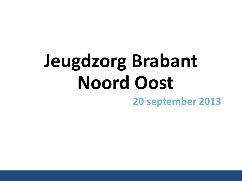 Jeugdzorg Brabant Noord Oost 20 september 2013