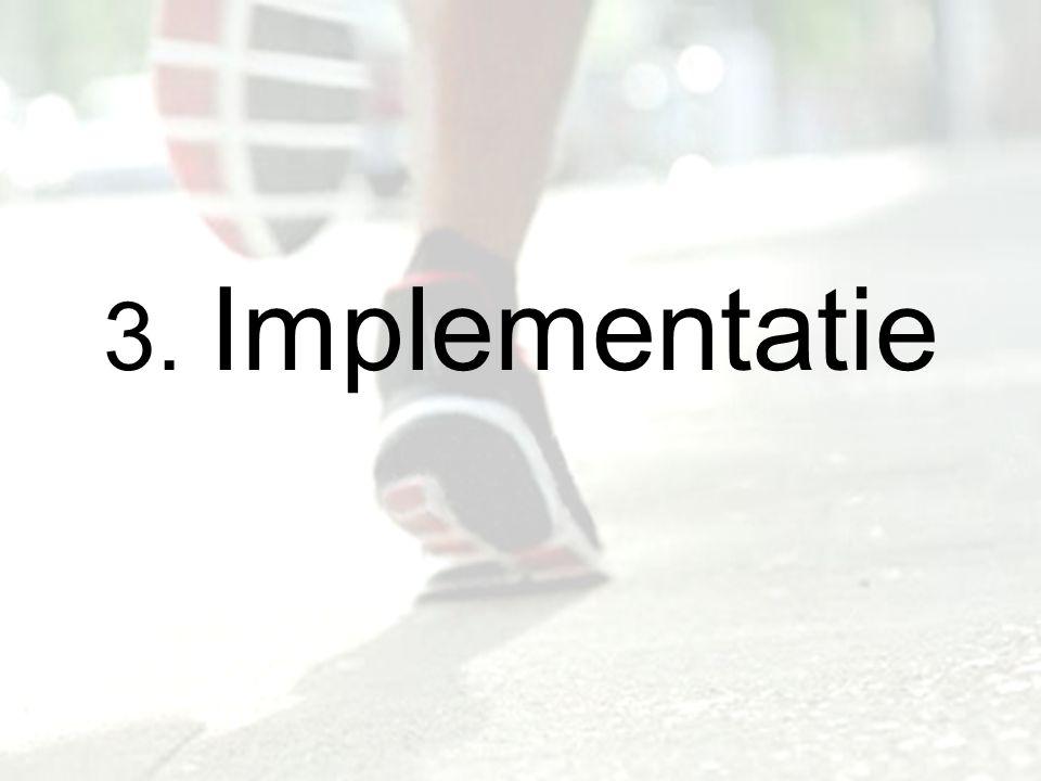 3. Implementatie
