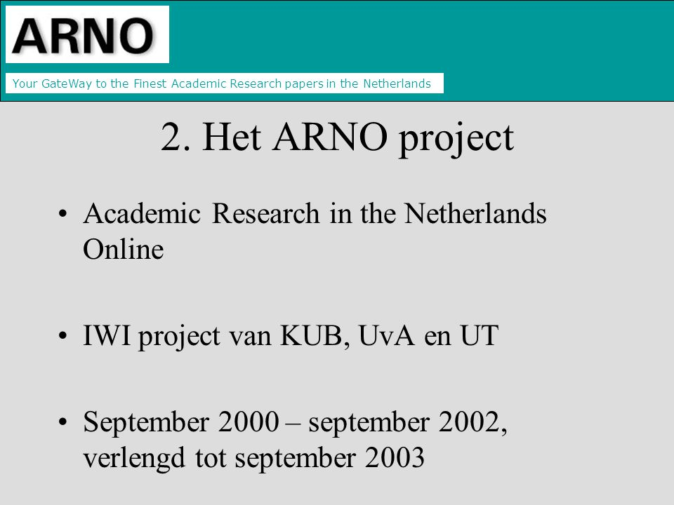Your GateWay to the Finest Academic Research papers in the Netherlands 2.