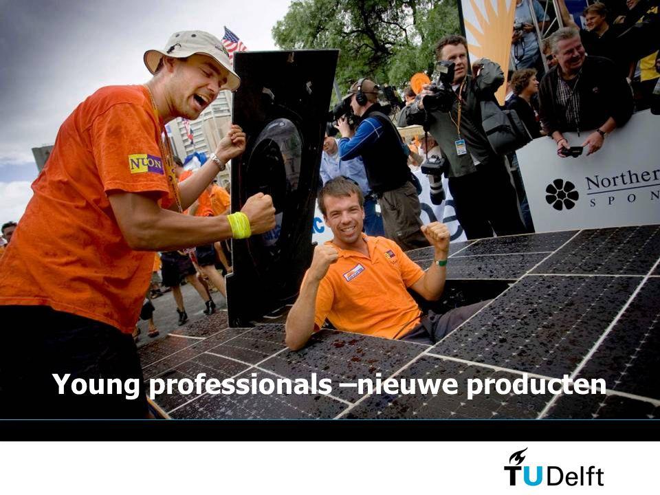 Young professionals –nieuwe producten