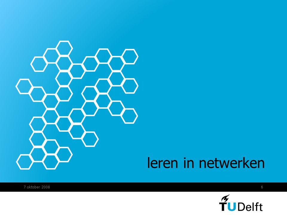 6 leren in netwerken