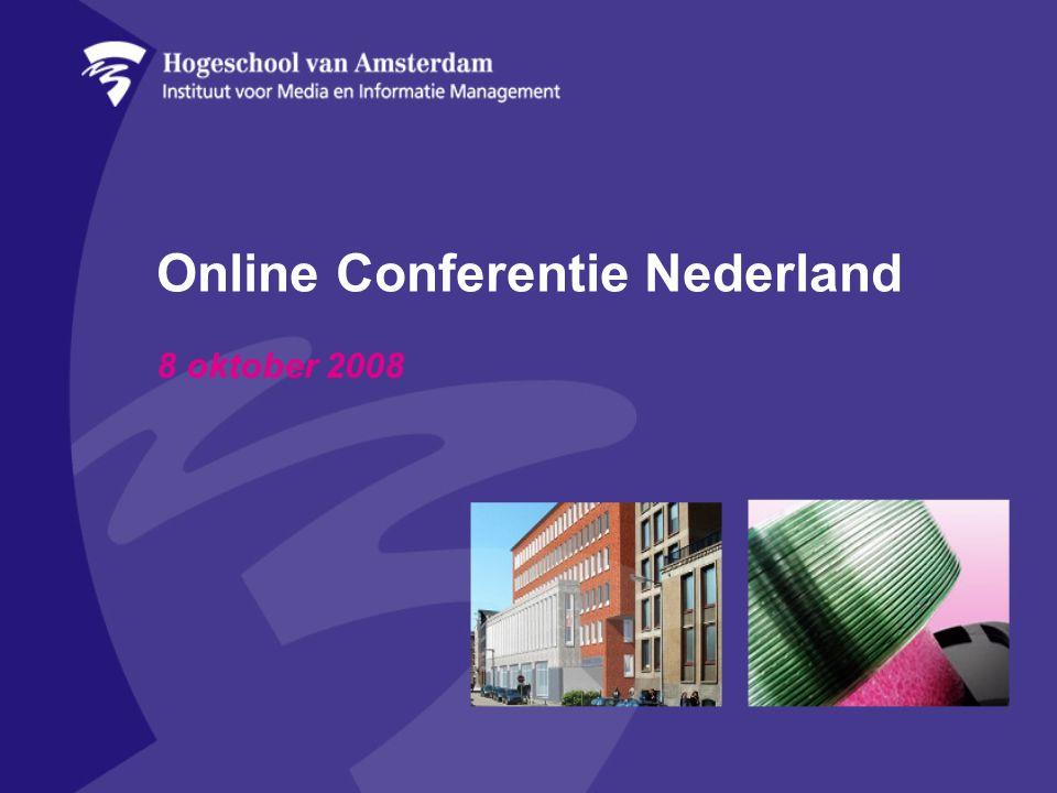 Online Conferentie Nederland 8 oktober 2008