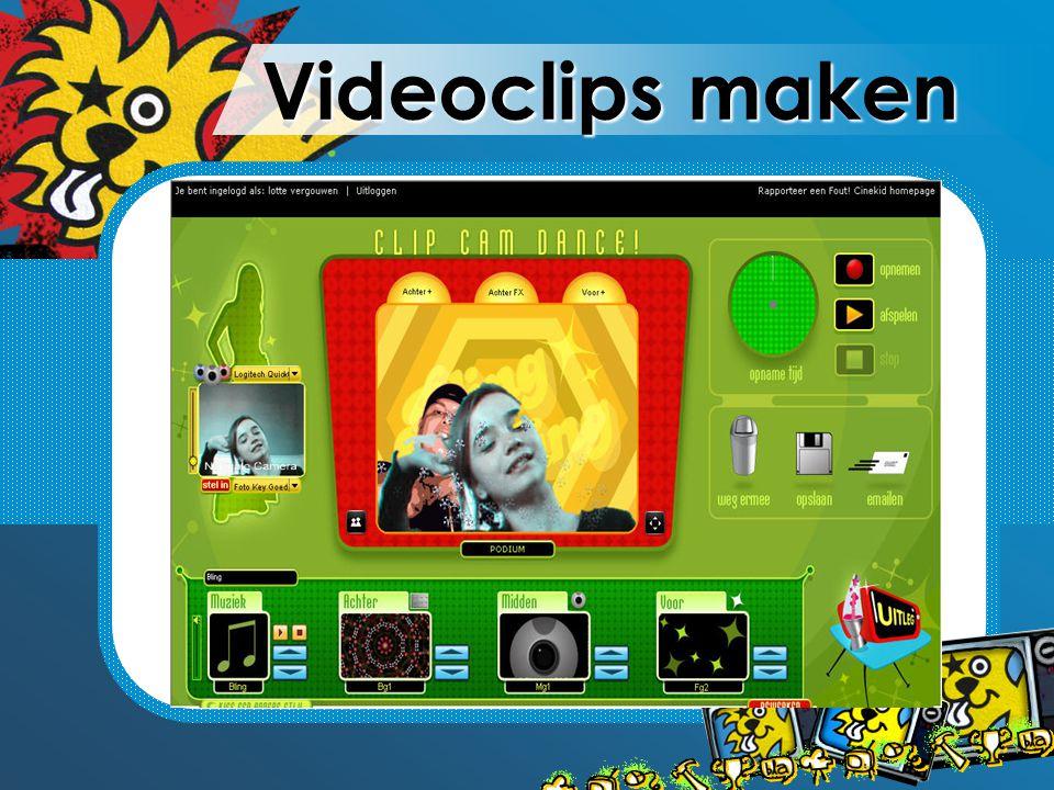 Videoclips maken
