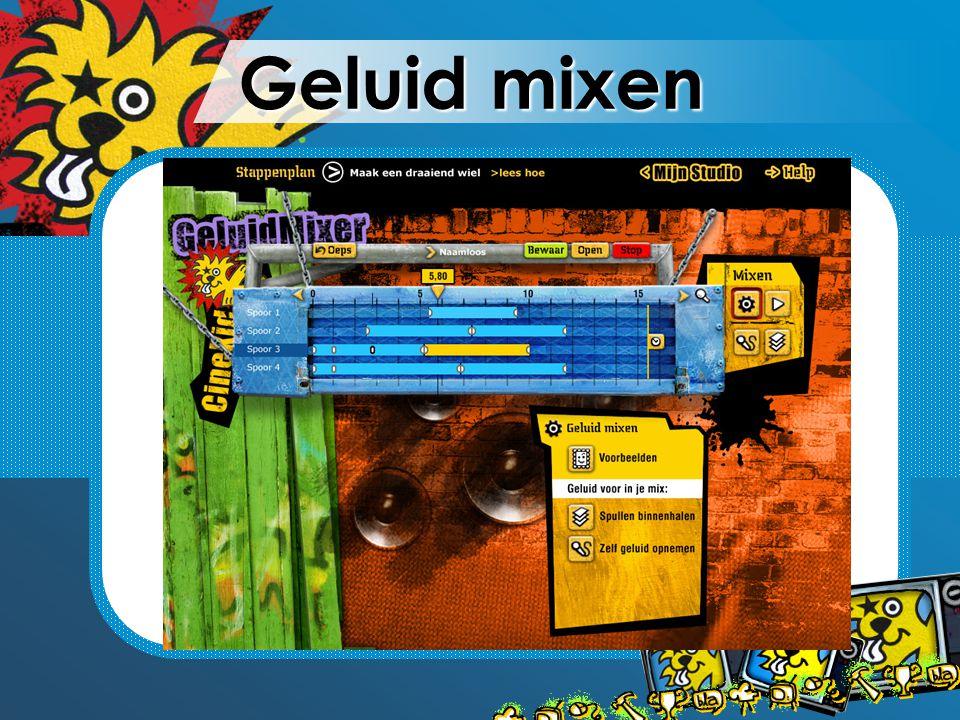Geluid mixen
