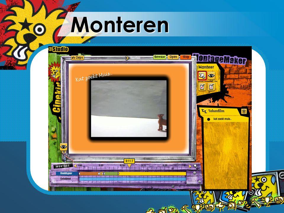 Monteren