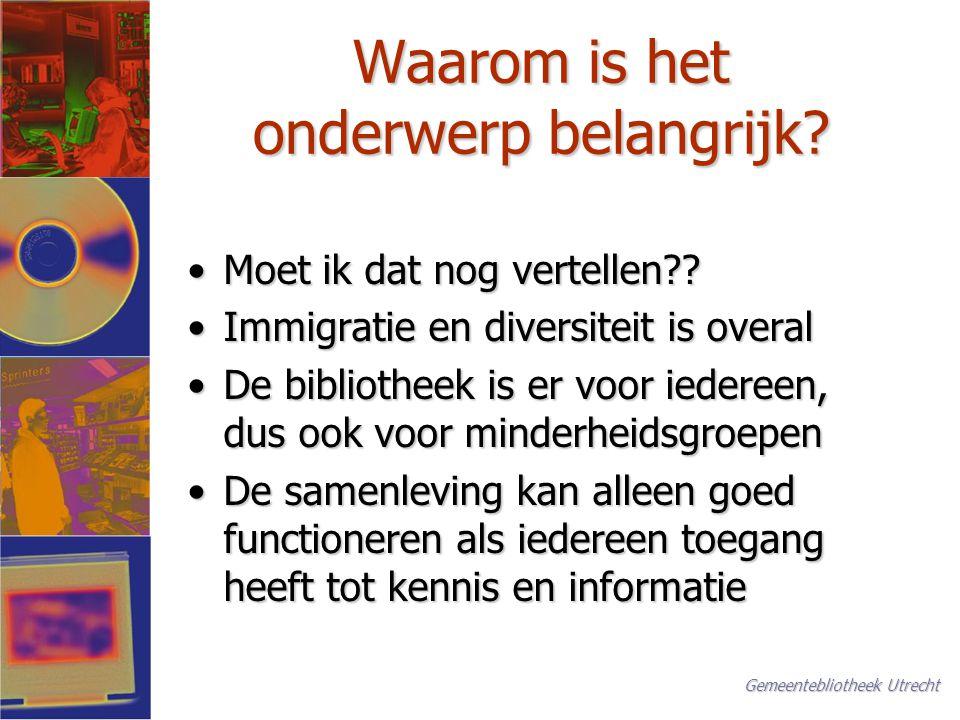 Individueel profijt Hij leerde zichzelf Nederlands in de bibliotheek…. Utrechts Nieuwsblad, 4 april 2002 Irakees student uitgeroepen tot beste chirurg in opleiding in Nederland Gemeentebliotheek Utrecht