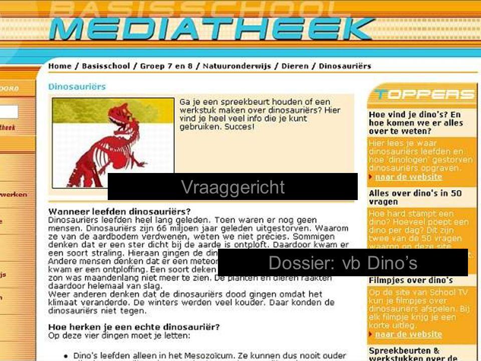 Dossier: vb Dino's Vraaggericht