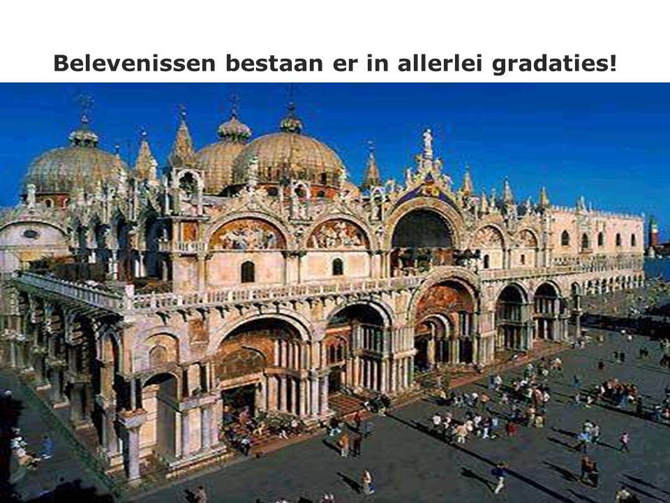 © 1993-2004 Positioneringsgroep BV - All rights reserved 23 Belevenissen bestaan er in allerlei gradaties!