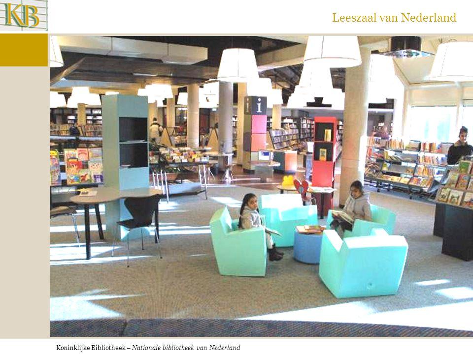 Koninklijke Bibliotheek – Nationale bibliotheek van Nederland Leeszaal van Nederland OB Rotterdam