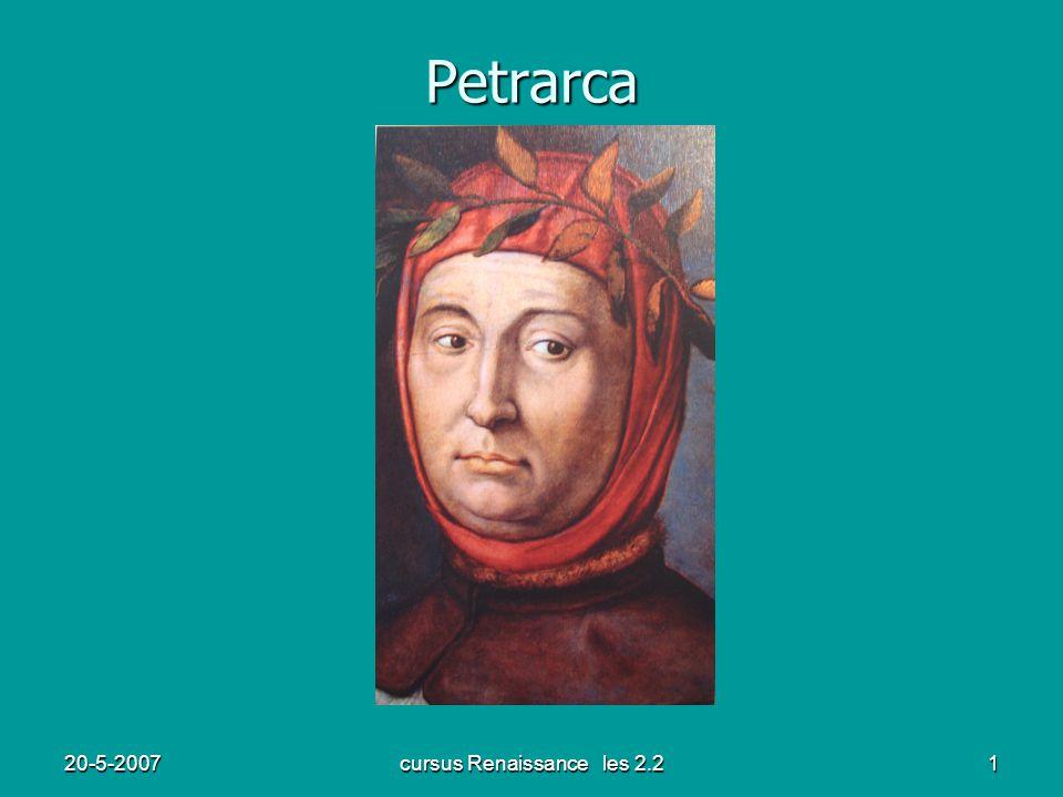 20-5-2007cursus Renaissance les 2.21 Petrarca