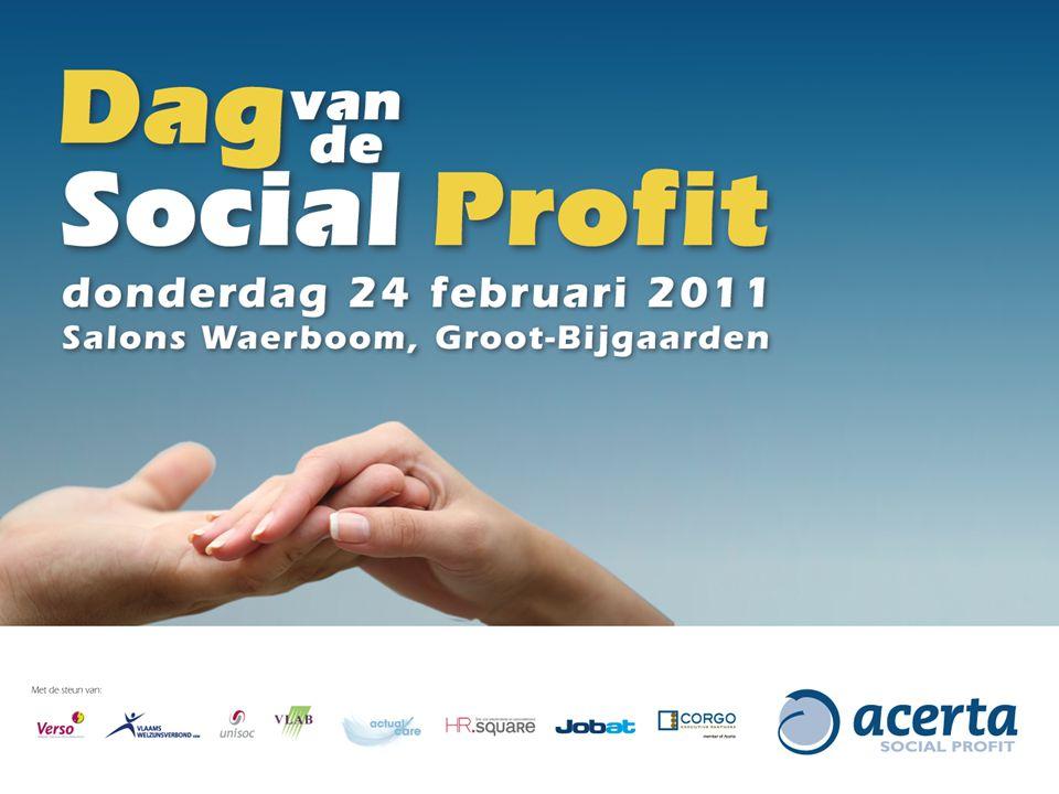 Overheid: aantrekkelijke werkgever Social profit : scoort laag Bron: Het Grote Kandidatenonderzoek 2010