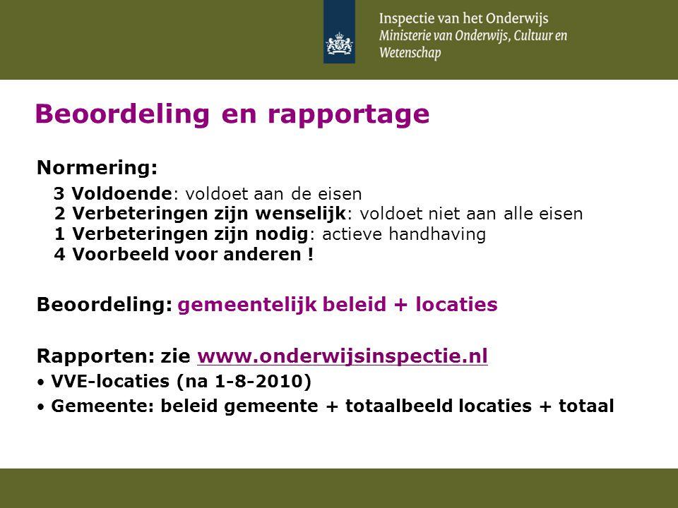 Eerste resultaten (G4 + G27): VVE-beleid Zie overzicht met CONCEPT-resultaten Gemeente AGemeente BEnz.
