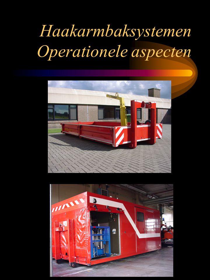Haakarmbaksystemen Operationele aspecten