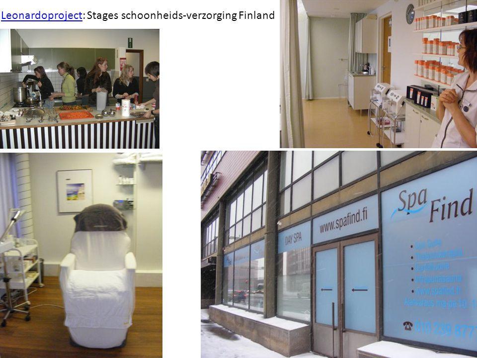 LeonardoprojectLeonardoproject: Stages schoonheids-verzorging Finland